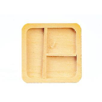 Puppen Haus Holz Trennfach Tablett moderne Platte Esszimmer Küche Zubehör