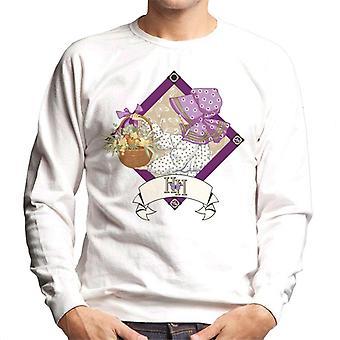 Holly Hobbie med en korg av frukt och blommor Män & apos; s Sweatshirt