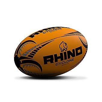 Rhino Cyclone Rugby League Koulutus Pallo Fluo Oranssi