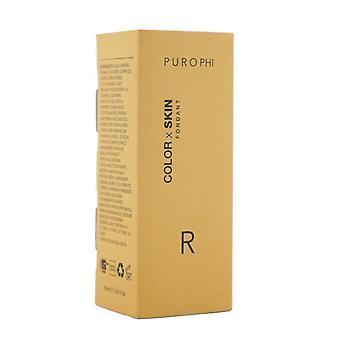 PUROPHI Color x Skin Fondant Foundation - # R (Medium/Dark) 30ml/1.01oz