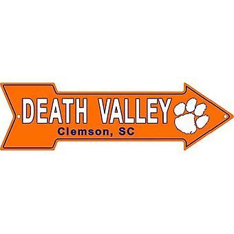 Clemson Tigers NCAA Death Valley Arrow Sign