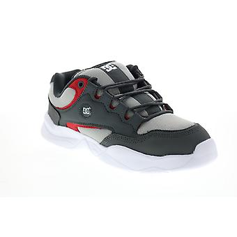 DC Decel  Mens Gray Canvas Lace Up Skate Inspired Sneakers Shoes