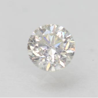 Gecertificeerde 0.50 Karaat F VS2 Ronde Brilliant Enhanced Natural Loose Diamond 4.89mm