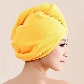 Diffuser Superfine Fiber Bath Hair Dry Hat Shower Cap Soft Strong Water