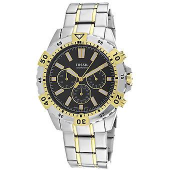 Fossil Men's Garrett Black Dial Watch - FS5771