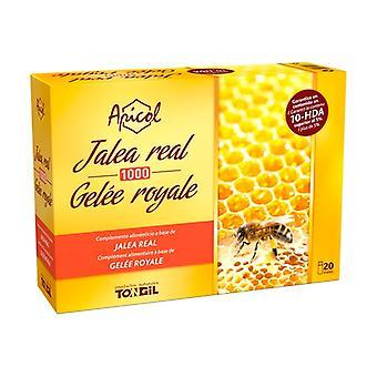 Apicol Royal Jelly 1000 20 vials of 10ml
