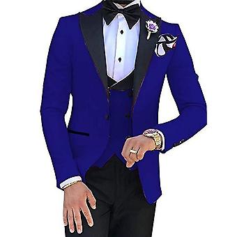 Slim Groom 3 Piece Wedding Suit
