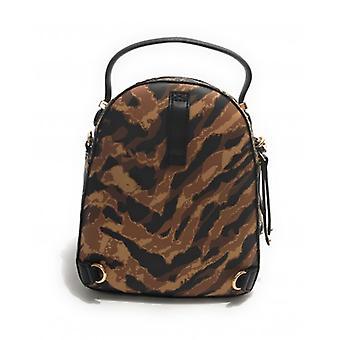 Backpack Liu-jo Backpack S Backpack/ Shoulder Strap In Ecopelle Animalier Woman B21lj46