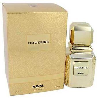Oudesire بواسطة Ajmal Eau De Parfum Spray (للجنسين) 3.4 Oz (نساء) V728-542148