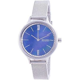Skagen Anita Blue Mother Of Pearl Dial Quartz Skw2862 Women's Watch