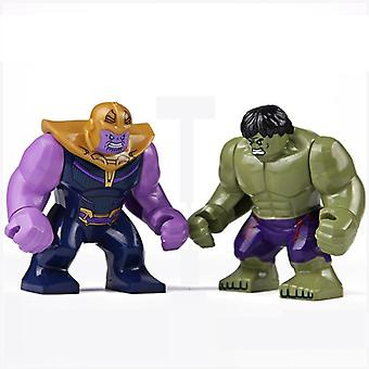 Disney Marvel Avengers Hulk Spiderman Thanos Action Figures