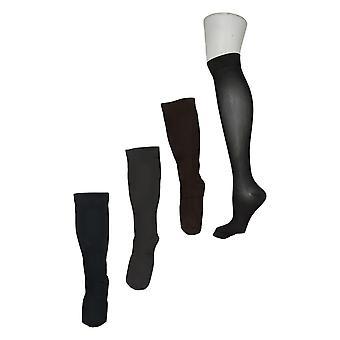 Legacy Women's Graduated Compression Socks Set of 4 Black A388345