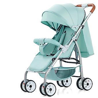 Baby High Landscape Stroller Car Lightweight Pram Sit/ Lie Cartoon Carriage
