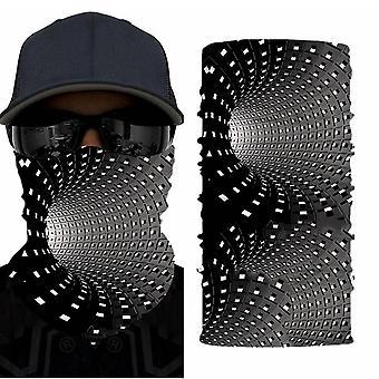 Digitaldruck Kopftuch nahtlose Maske