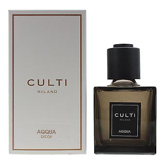 Culti Milano Decor Diffuser 250ml - Aqqua - Sticks Not Included In The Box