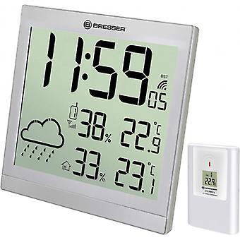 weather station TemeoTrend JC 22 cm grey 2-piece