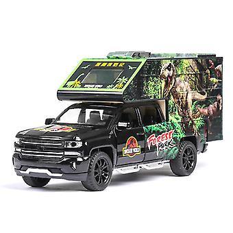 1:32מודל משאית תחבורה דינוזאורים היורה