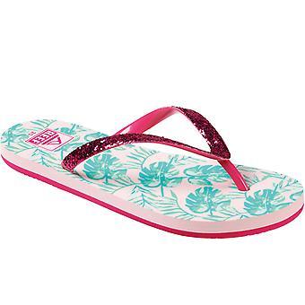 Reef Girls Stargazer Summer Beach Pool Sandals Thongs Flip Flops - Paradise