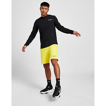 New McKenzie Men's Essential Fleece Shorts from JD Outlet Yellow