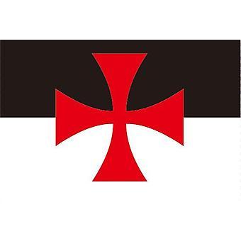 Cross pat- ritarit templar lippu