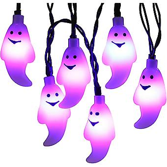 30 Led string lights with built-in timer for halloween - battery operated dt7185