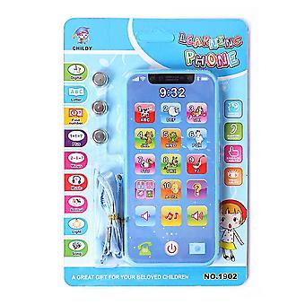 Children's Musical Light-up Phone Baby Portable Telephone