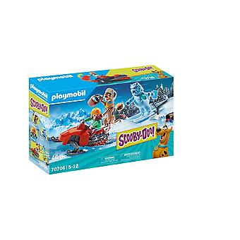 Playmobil Scooby-Doo Adventure with Snow Ghost Playset