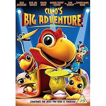 Cucos stora äventyr DVD