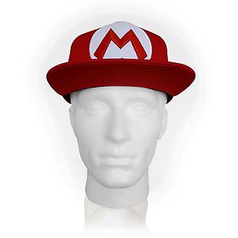 Nintendo - Mario Symbol Unisex Größe Adjuster Cap - rot