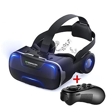 Blu-ray Vr Virtual Reality 3d Brille Box Stereo Google Karton Headset