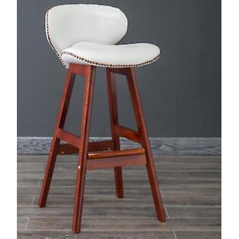 Moderni lyhyt massiivipuu selkänoja Louis muoti baari tuolit jakkarat