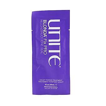 Unite BLONDA Fix PRO Violet Toning Treatment (Salon Product) 24x30ml/1oz