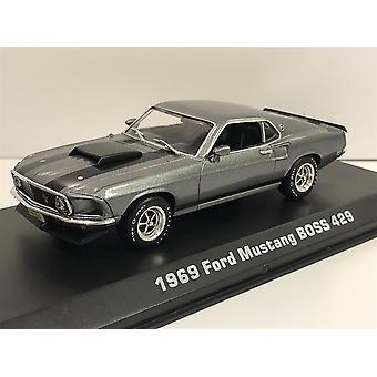 John Wick 1969 Ford Mustang BOSS 429 1:43 Échelle Greenlight 86540