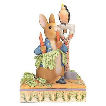 Beatrix Potter Peter Rabbit 'Then He At Some Radishes' Beeldje