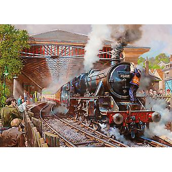 Gibsons Pickering Station Jigsaw Puzzle (1000 pièces)