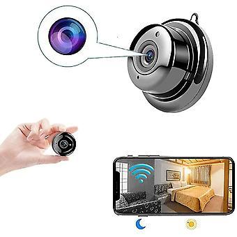 Mini Spy Kamera HD 1080p WiFi - Drahtlose versteckte Kamera mit DVR Nachtsicht, Zwei-Wege-Audio, Fernbedienung