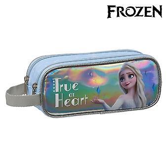 Holdall Frozen True at Heart Silver Light Blue