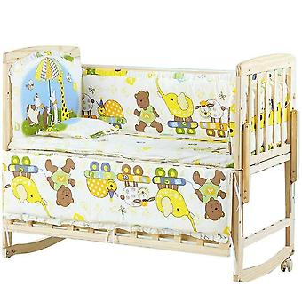 Baby Bedding Linen Bumpers, Cot Pure Cotton Sheets