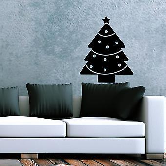 OBSNOEL-14 Black Decorative Wall Sticker