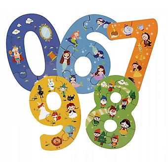 Number Puzzle Wooden Educational Toy