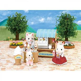 Sylvanian Familles Boutique Glaces Display Stand Playset