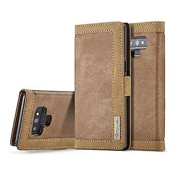 Samsung Galaxy S8 + / S8 Plus Multi-Function Flip Case Cover - Brun