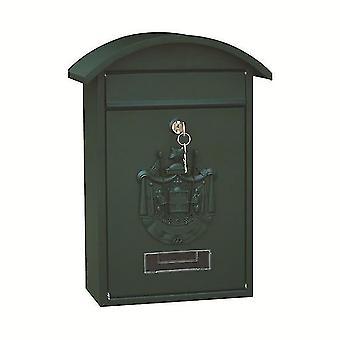 صناديق البريد قابلة للقفل جدار محمولة مربع آخر الحديد مع مفتاح