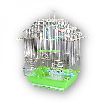 Iron Wire Imitation Golden Dome Parrot Cage Indoor And Outdoor Bird Cage