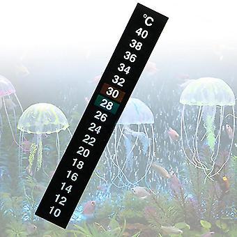 Akvarijní akvárium Digitální teploměr Temp Sticker Stick na strip metru