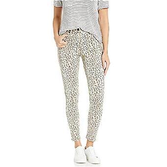 Joe's Jeans Women's Charlie High Rise Leopard Skinny Ankle Jean