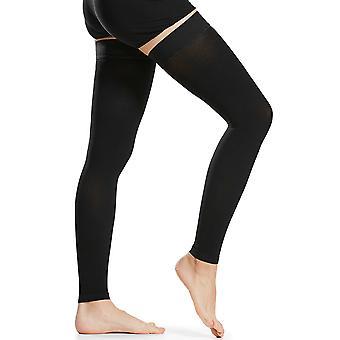 1 Paar Oberschenkel hohe Kompression Socken Männer Frauen 20-30mmhg Kompressionsstrümpfe Kompressionsärmel für Krampfaderschwellung