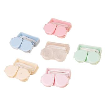 Colored Contact Lens Case With Mirror