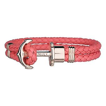 Unisex Bracelet Paul Hewitt PH-PH-L-R-CB Pink Leather/16-17 cm