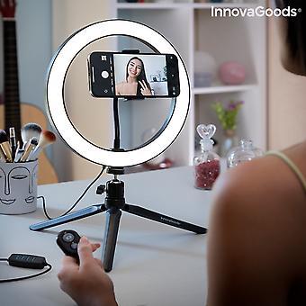 Selfie Ring Light avec trépied et télécommande Youaro InnovaGoods